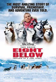 What năm was the Disney film, Eight Below, released