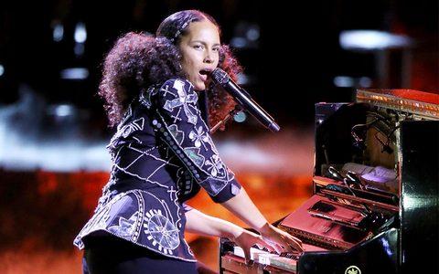 Alicia Keys was born Alicia Augello Cook in 1981