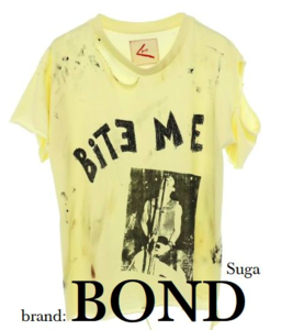 Which música video did he wear this camisa, camiseta featuring a picture of a blowjob?