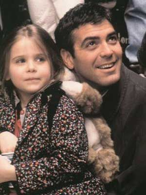 What was George Clooney's daughter's name in 'One Fine Day'?