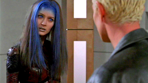How does Spike refer to Illyria in S05E21 Power Play ?