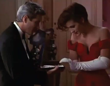 How much is the ネックレス worth Vivian wore in 'Pretty Woman' ?
