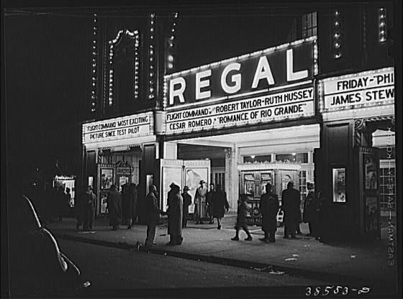 Alongside the Apollo, The Regal Theatre was a popular venue for singers such as James Brown and Sam Cooke