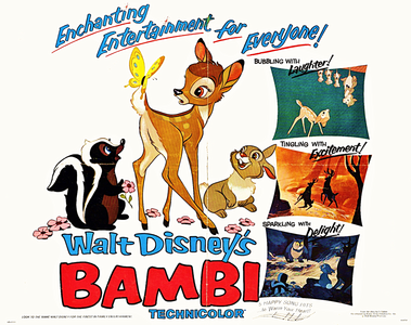 ★ True or False: Bambi was the first Disney Movie to have its world premiere outside the United States ★