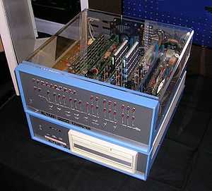 The Altair 8800 was first introduced as the first personal computer back in 1975