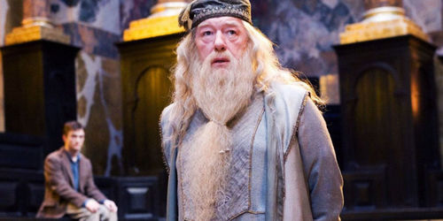 How many middle names does Professor Dumbledore have?
