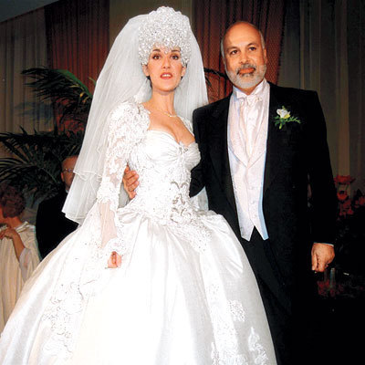 What Jahr did Celine Dion marry longtime manager, Rene Angelil