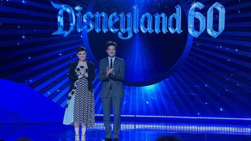"Disneyland ""60th"" anniversary celebration back in 2015"