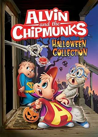 How many episodes are on The Halloween Collection DVD?