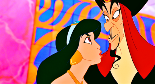 ★ Aladdin: What does Princess melati say to Jafar in this scene? ★