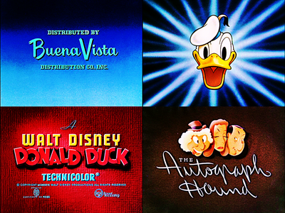 "★ The Walt Disney Shorts: All these images are from the Donald canard Short ""The Autograph Hound"" exept one. Which one is from another Donald canard short? ★"