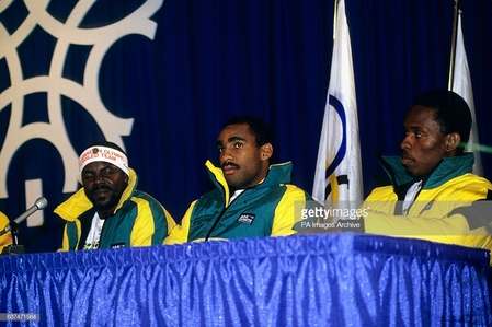 Real life 1988 Jamaican Bobsled Team was the subject of the 1993 film, Cool Runnings