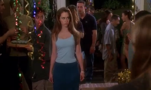 Who did she play in Can't hardly wait?