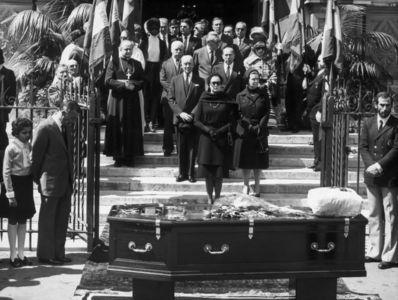 Josephine Baker's funeral back in 1975