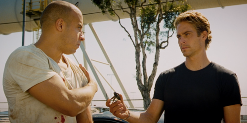 What was the number on the train at the end of The Fast and the Furious?