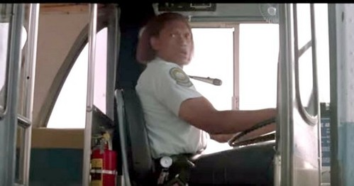 What is the name of the bus driver in 'Speed' ?