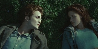 In the Twilight Saga why do vampires sparkle in sunlight?