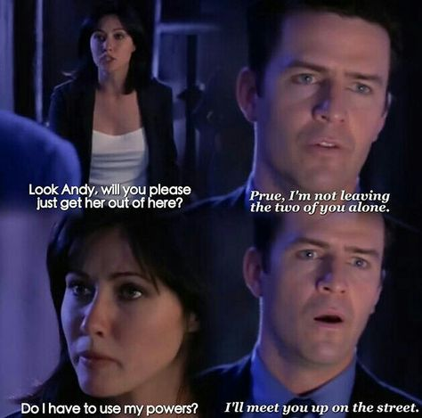 Which episode of Charmed –Zauberhafte Hexen is this picture of Andy and Prue from?