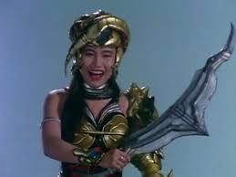 Who called Scorpina the Scorpion Monster and said to watch out for her stinger?