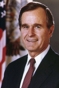 George Bush was the 41st President Of The United States Of America