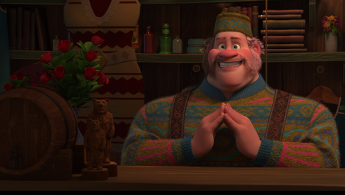 """★ According to Oaken, """"it's a real howler"""" in which month? ★"""