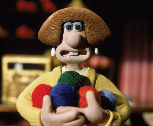 Who have voiced Wendolene Ramsbottom from Wallace and Gromit: A Close Shave?