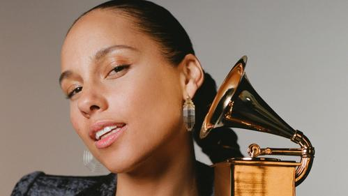Alicia Keys was the first woman to host the Grammy Awards