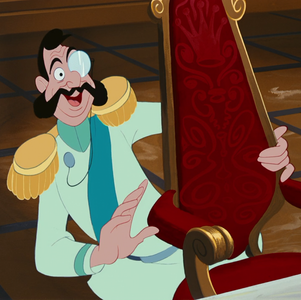 Which character *never* used a monocle?