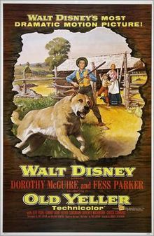 What 年 was the classic ディズニー Film, Old Yeller, released