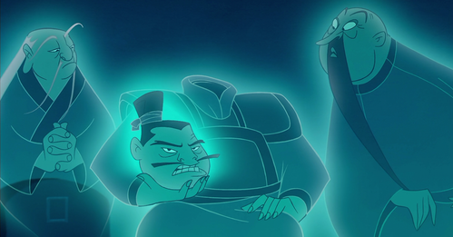 What is the name of Mulan's headless ancestor?
