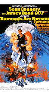 What an was the classic Bond film, Diamonds Are Forever, released