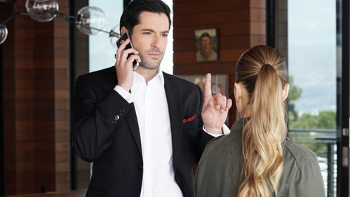 Lucifer Was Working With Chloe As An LAPD Inspector.