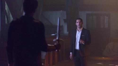 Lucifer Killed Uriel With Remiel's Blade.