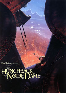 The 1996 ডিজনি cartoon, The Hunchback Of Notre Dame, was based on book দ্বারা Victor Hugo