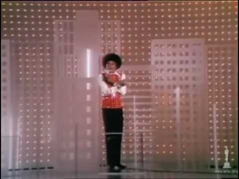 Michael Jackson performing live at the 1973 Academy Awards