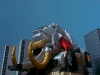 What episode was The Mighty Mammothzord introduced