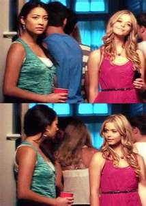 What did the note that Alison leave Emily say?