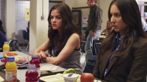 What did Spencer say after Aria sagte that Alison had always admired her for her great sense of style?