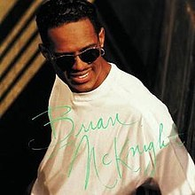 What año was Brian McKnight's self-titled debut album released