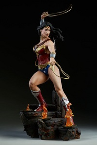 Which of Wonder Woman's accessories was forged from the magic girdle of Aphrodite?