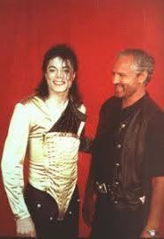 Who is this man in the photograph with Michael