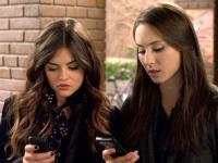 What did Aria tell Spencer she was giving her?