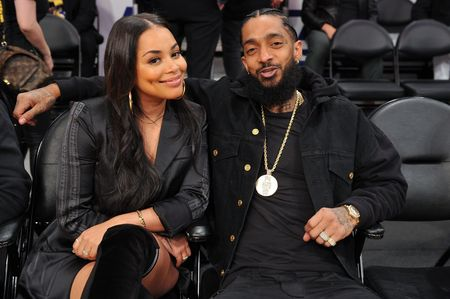 When did Lauren London and Nipsey Hussle start dating?