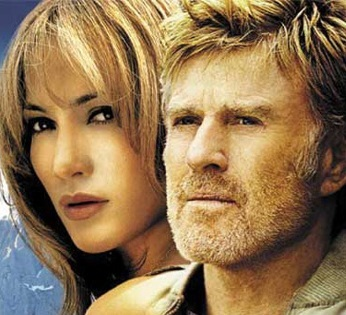 Jennifer Lopez co-starred with Robert Redford in...?