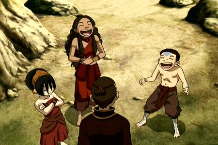 Aang : Say something funny!! Sokka : _________________