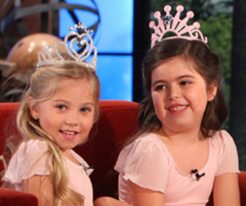Sophia Grace And Rosie With One Direction