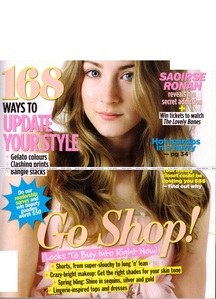 What magazine is Saoirse on in this cover?