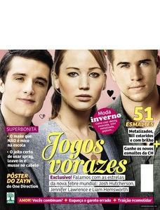 What magazine is Jennifer on in this cover?