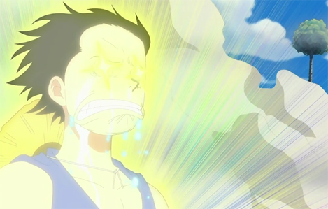 what made Luffy reacted like this and what ep was it??