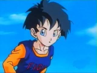 How many time Videl changes her hairstyle during the anime?